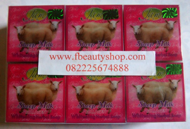 Sheep Milk Collagen Sabun Susu Domba