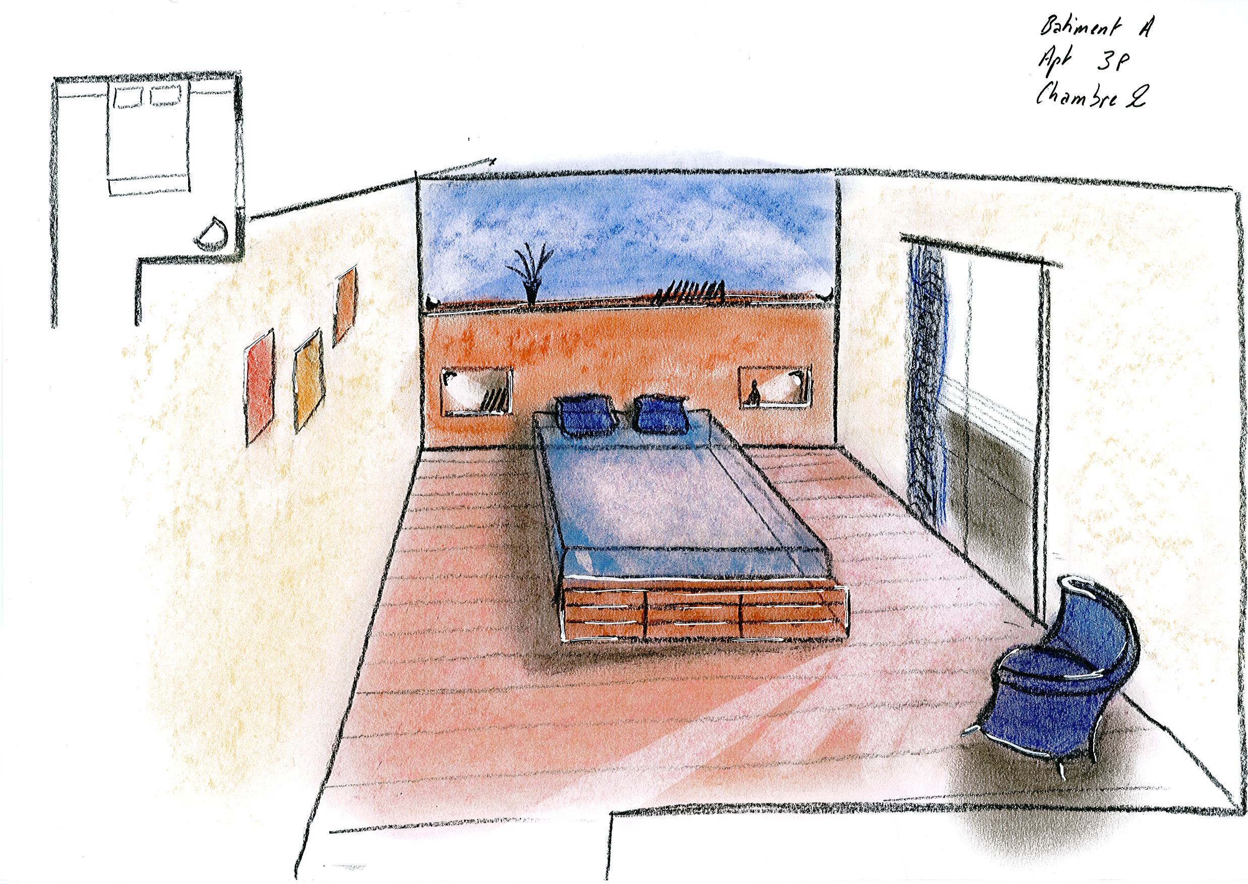 Dessin De Maison Interieur Dessins Darchitecture Intrieure Esquisses En