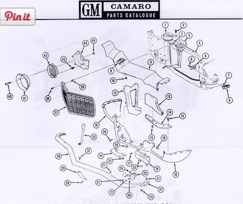 1969 camaro engine wiring diagram