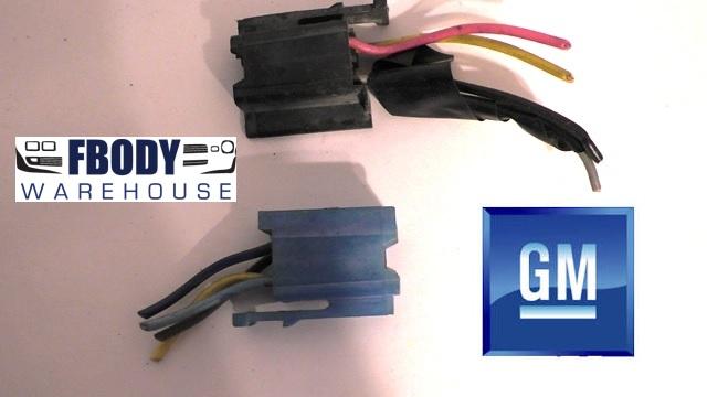 1978 - 1981 Camaro Trans Am Radio Wiring Harness Plugs Used GM