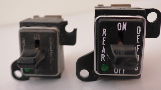 1970 - 1981 Trans Am Rear Defrost Switch Restoration