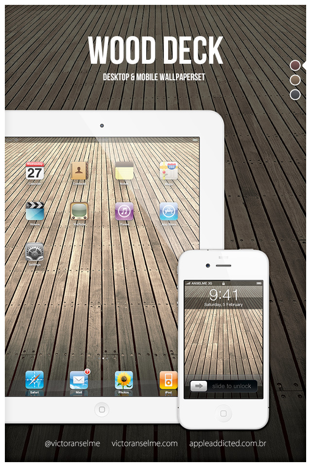 wood deck by victoranselme d5ar6pl Wallpaper Of The Week #56