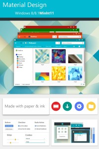 Material Design for Windows 8/8.1 by minht11 on DeviantArt