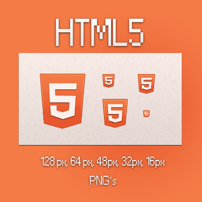 html5 icons by kuvaly d4fikzq Fresh & Best Icon Collection Of The Month November #4