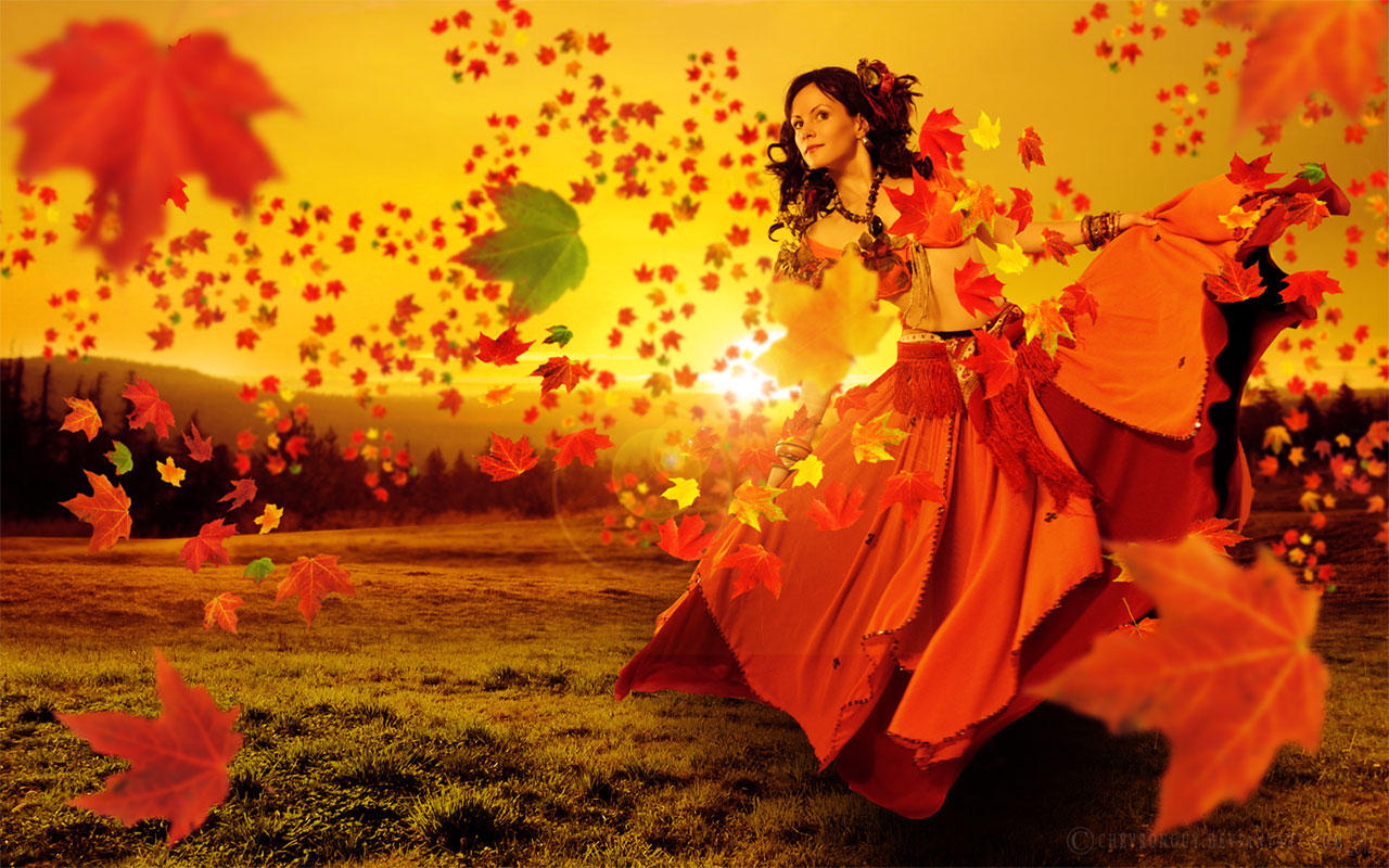 Free Widescreen Wallpaper Fall Autumn Dance By Chevronguy On Deviantart