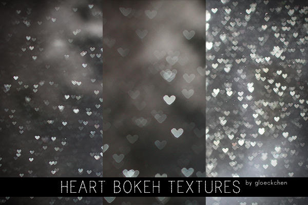 Christmas Falling Snow Wallpaper Note 3 Heart Bokeh Textures By Gloeckchen On Deviantart