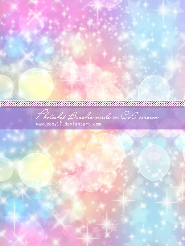 Sparkly Magical Girl Wallpaper Coby Sparkles Photoshop Brushes By Coby17 On Deviantart