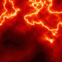Orange lightning by hansoloqt on DeviantArt