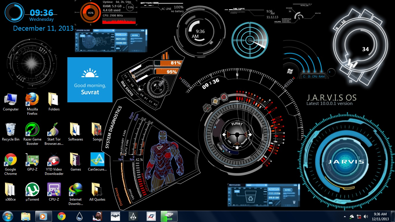 How To Make Your Own Live Wallpaper Iphone X Ironman Jarvis Ultimate 1 0 By Suvrat29 On Deviantart