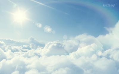 Above the clouds wallpaper   Wallpaper Wide HD