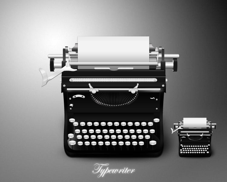 Hd Quality Wallpapers For Mobile Typewriter Icon By Mdgraphs On Deviantart