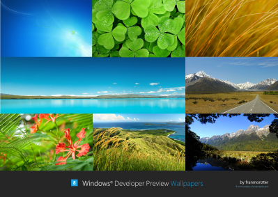Windows Developer Preview Wallpapers by arcticpaco on DeviantArt