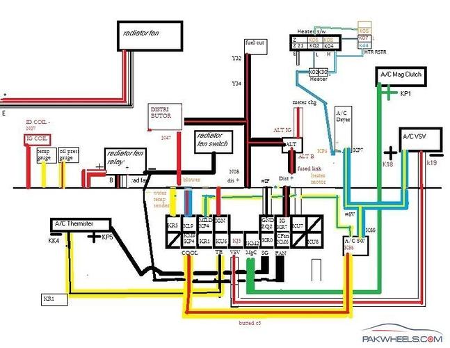 Daihatsu Cuore Wiring Diagram - Free Wiring Diagram For You \u2022