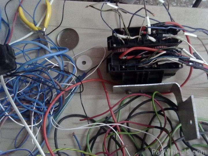 DIY Headlight relay fitting in Cultus 2005 - DIY Projects