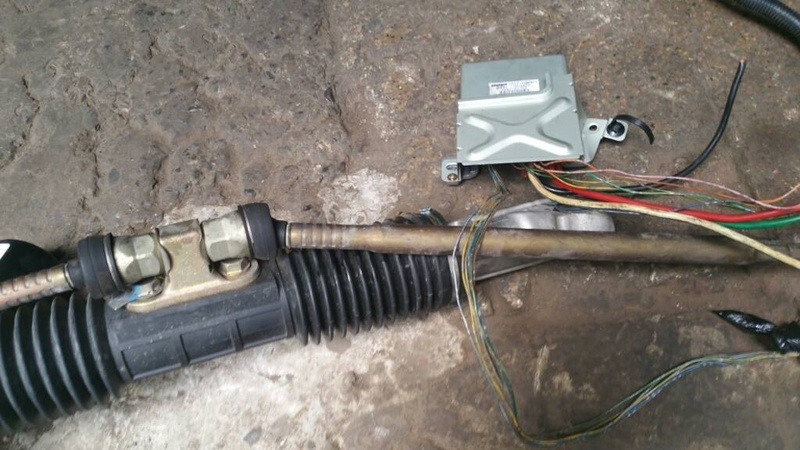 Hydraulic to Electronic power steering conversation in honda civic