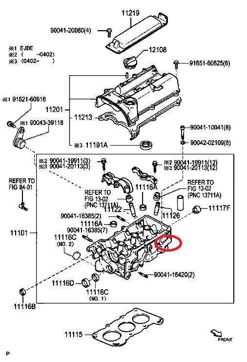 Perodua Motordiagramm