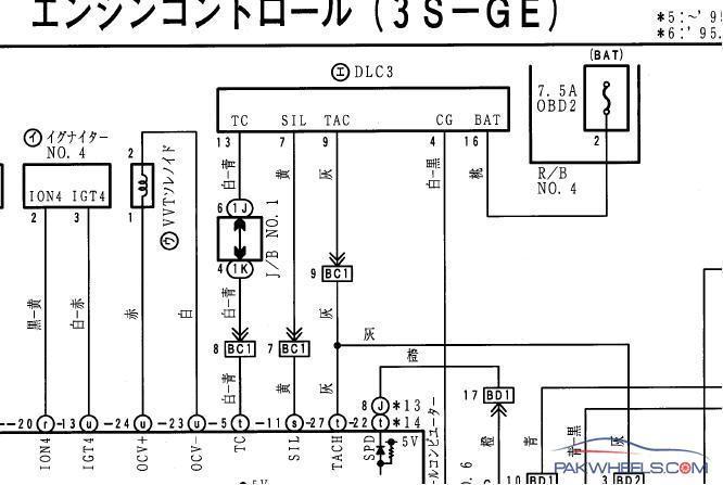 Wiring Diagram Toyota 3sfe Wiring Diagram Library