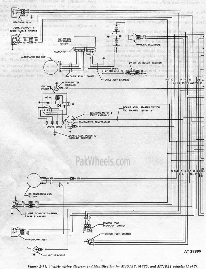 M151 Wiring Diagram Electronic Schematics collections