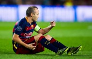 Iniesta Injury Report