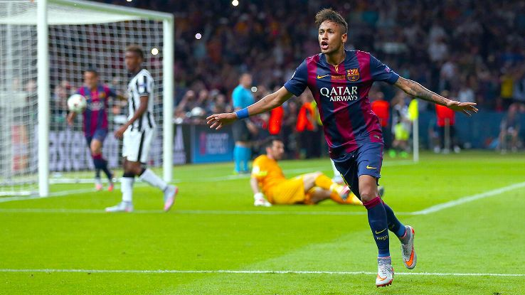 Neymar ready to take Barca's Free Kicks
