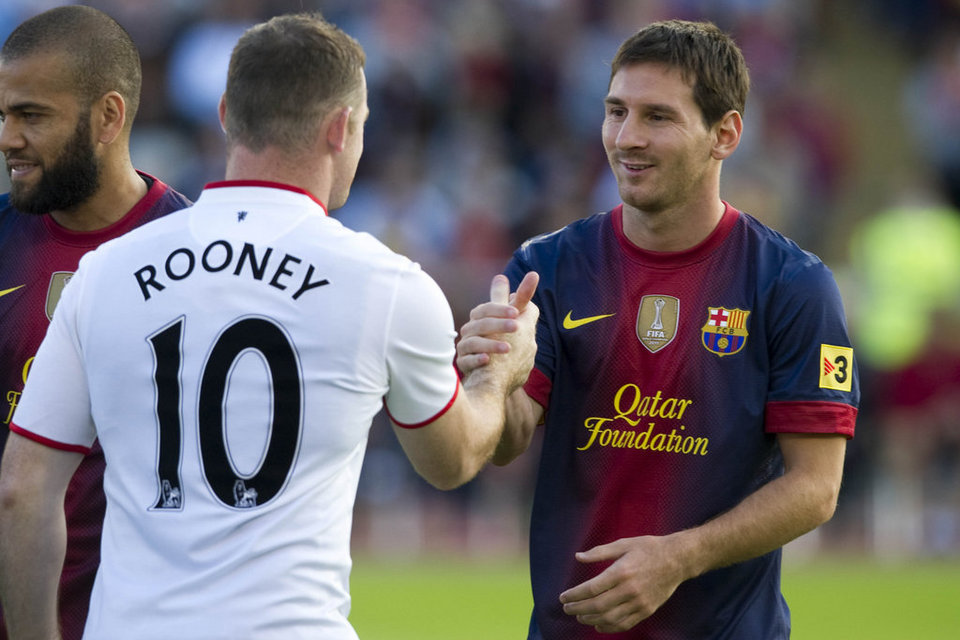 Rooney is unique says Messi