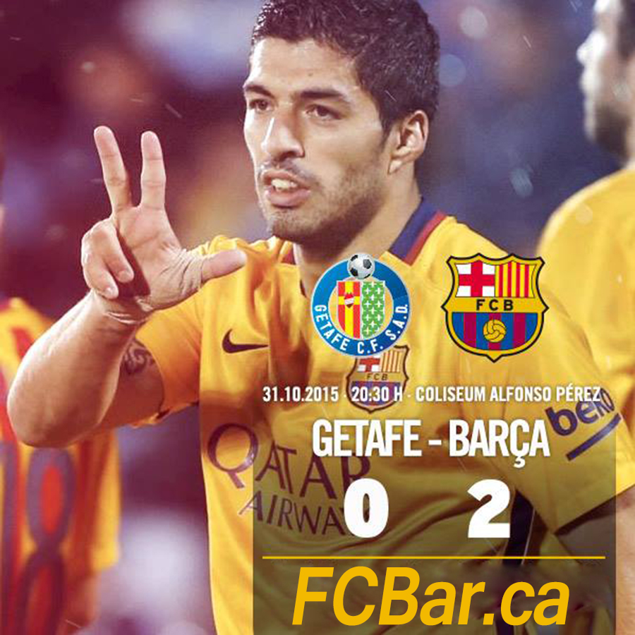 Getafe 0-2 Barcelona: a comfortable win for Barca