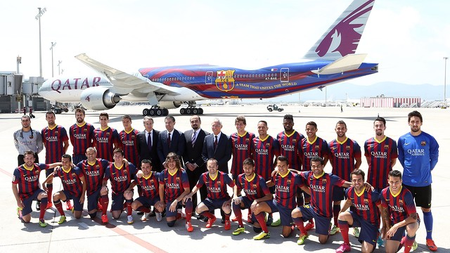 Barcelona fail to reach deal with Qatar Airways