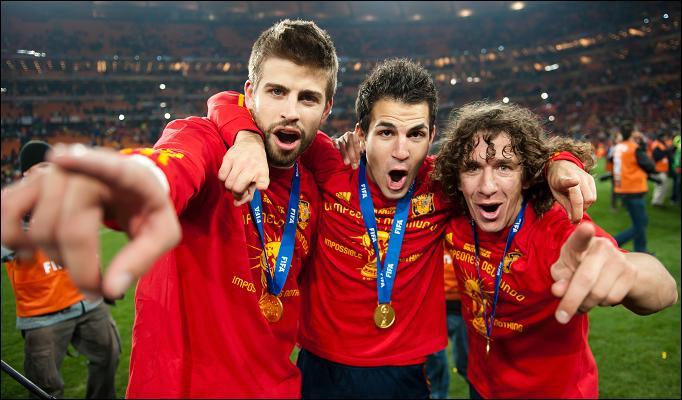 Pique hails ex Barcelona teammate