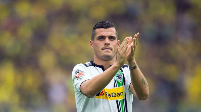 Granit Xhaka on Barcelona radar
