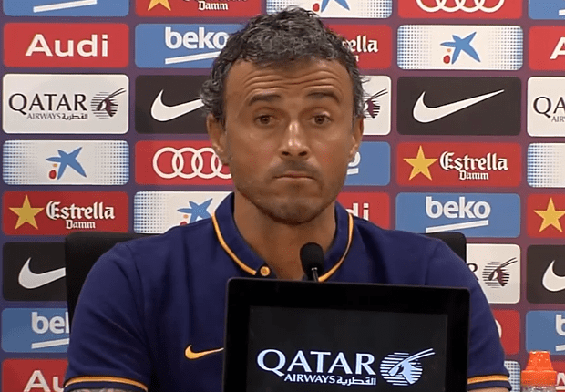 Barca working to get better – Luis Enrique