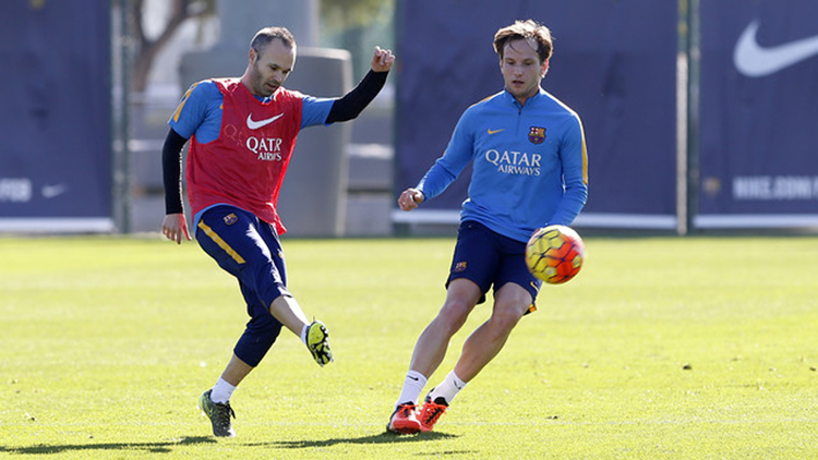 Iniesta should fit for Eibar game