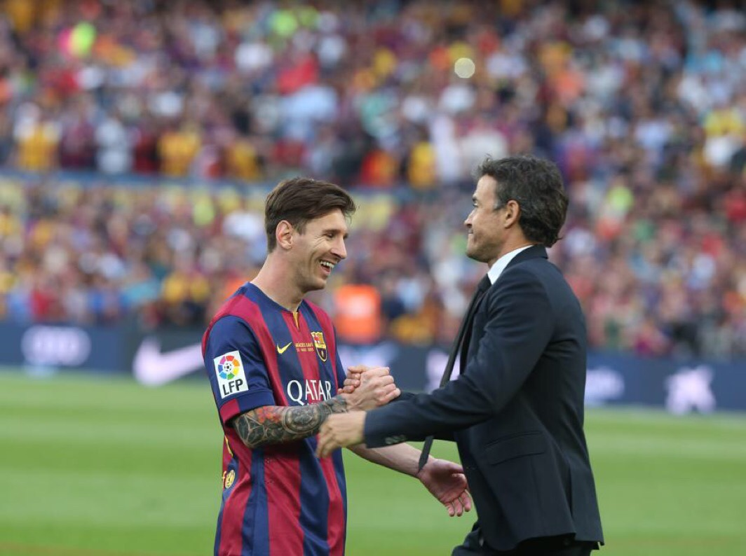 Messi's fitness will determine Lucho's Clasico tactics