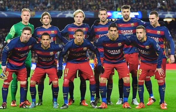 FC Barca players comments after AS Roma game
