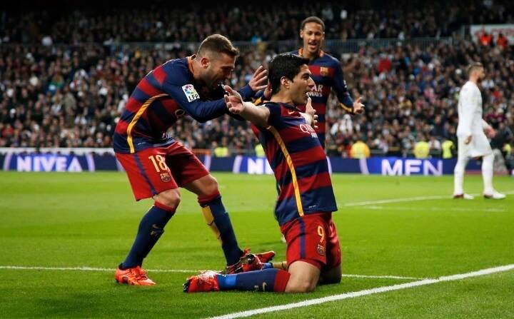 Barcelona Humiliates the whites in there field