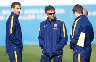 Luis Enrique got his Spain stars back in training