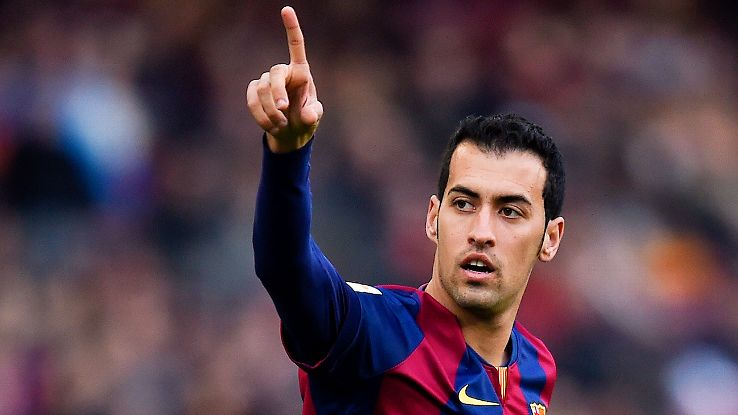 Busquets 350 matches with Barcelona