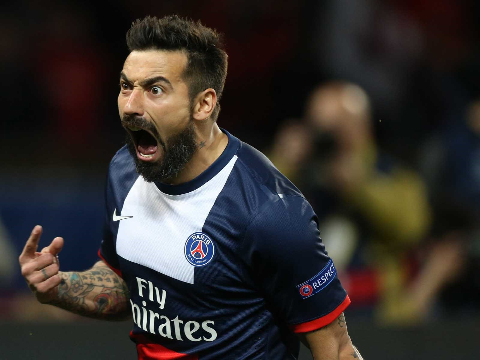 Ezequiel Lavezzi wants to go to Barca