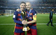 Messi and Iniesta top Xavi's 25 titles