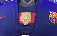 Barça shirt with world champions badge
