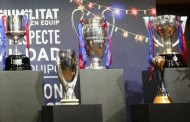 The five trophies are already in Barcelona