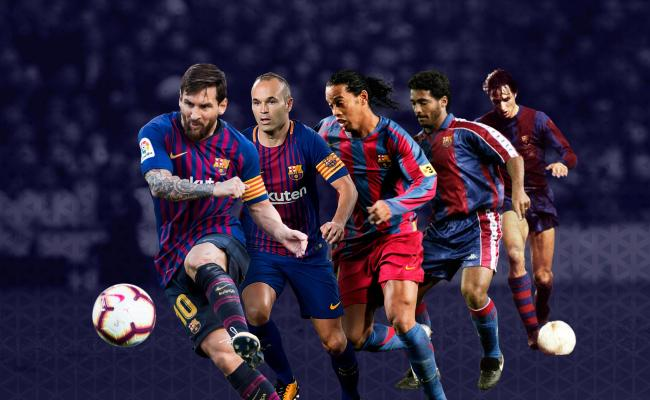 Choose The Best Goal In Barça History