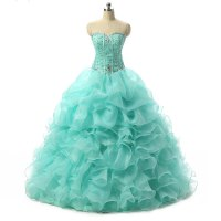 Hot Sale Quinceanera Dresses,Organza Ball Gown Sweetheart ...