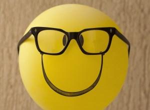 Balloon Silly Smiley Geek Geeky Nerdy Nerd