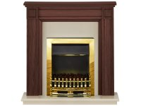 Adam Georgian Fireplace Suite in Mahogany with Blenheim ...