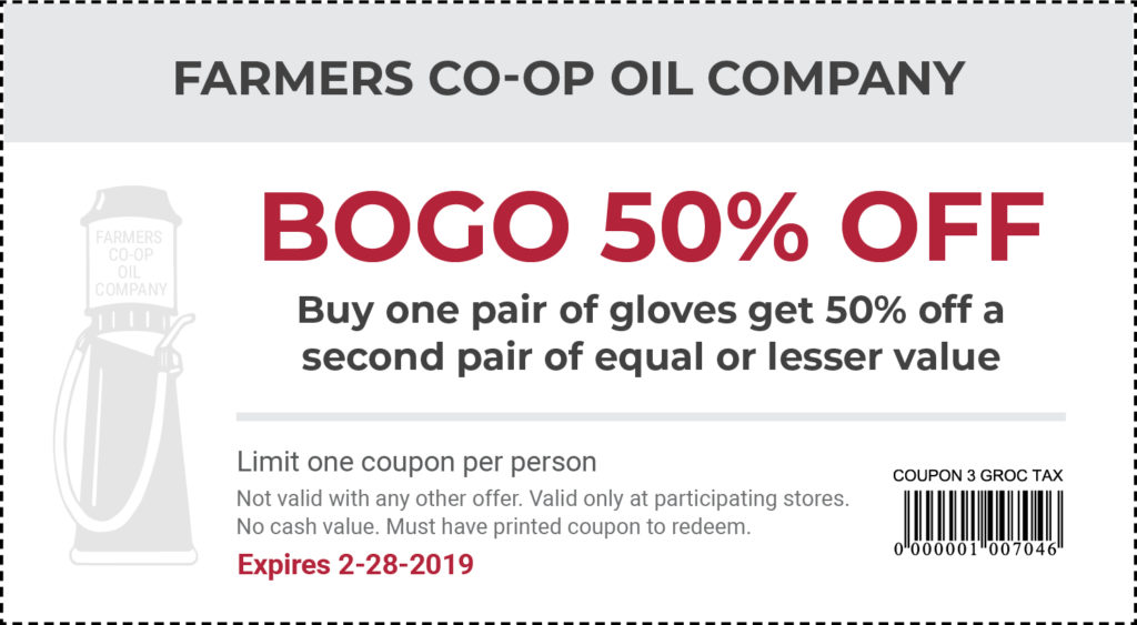 Coupons - Farmers Co-op