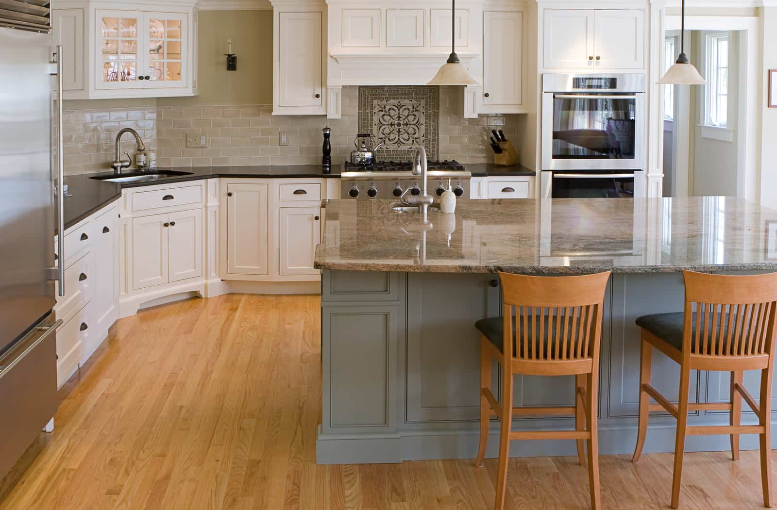 Straight From The Experts Should You Paint Or Stain Your Cabinets First Coast Supply