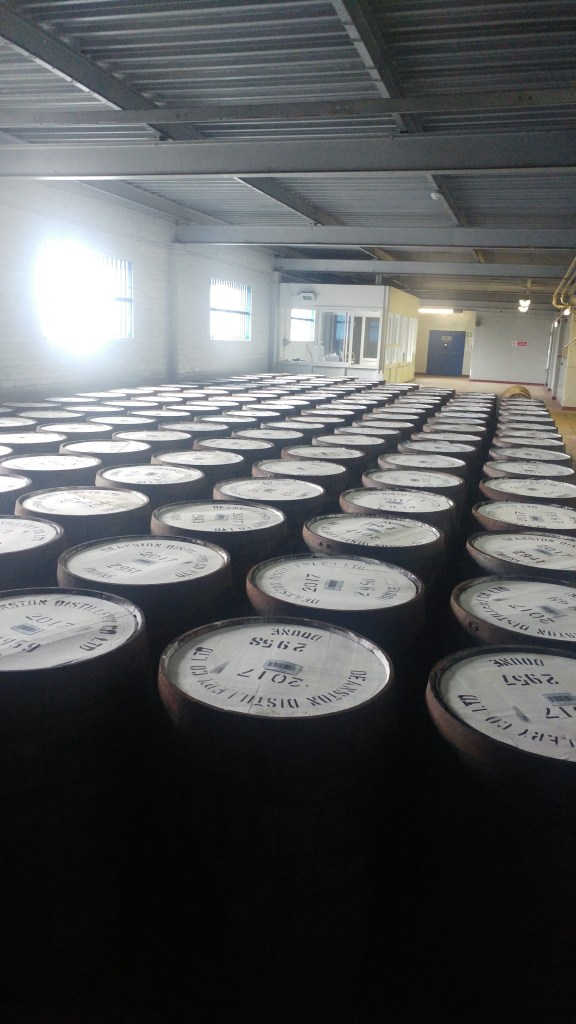 Whiskey Casks - Deanston Distillery