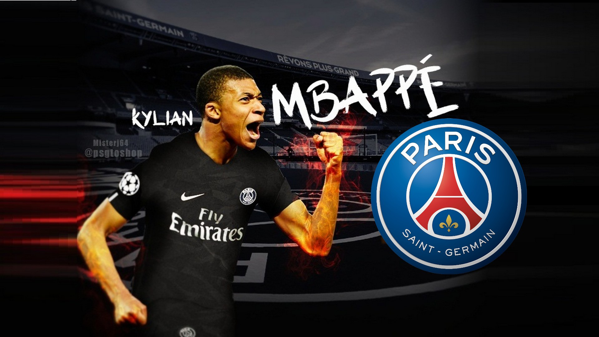 Psg Wallpaper Hd Psg Kylian Mbappe Mac Backgrounds 2019 Football Wallpaper