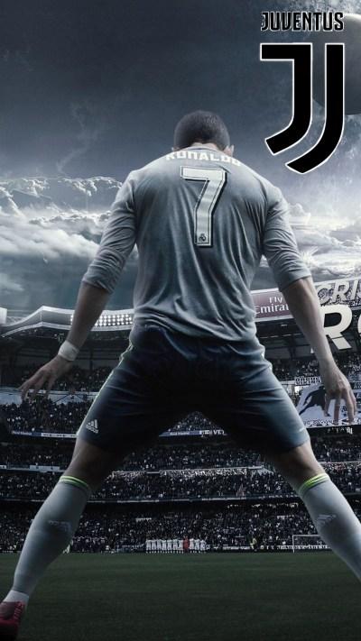 Wallpaper C Ronaldo Juventus iPhone   2019 Football Wallpaper