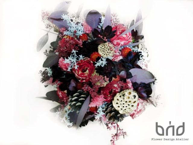 2013 1月 花束の贈り物